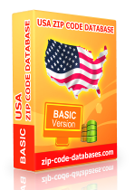 usa zip code database
